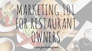 marketing-101-for-restaurant-owners